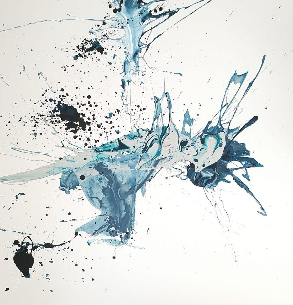 """40 """" X 40 """", Acrylic on canvas, 2020"""