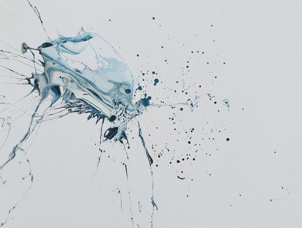 """24 """"X 32 """",  Acrylic on canvas,  2020"""
